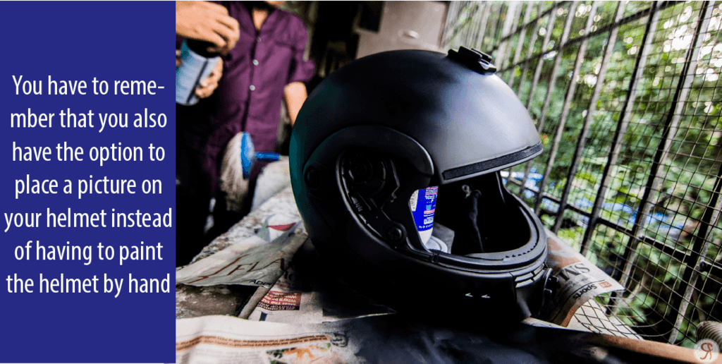 How to Repaint a Motorcycle Helmet