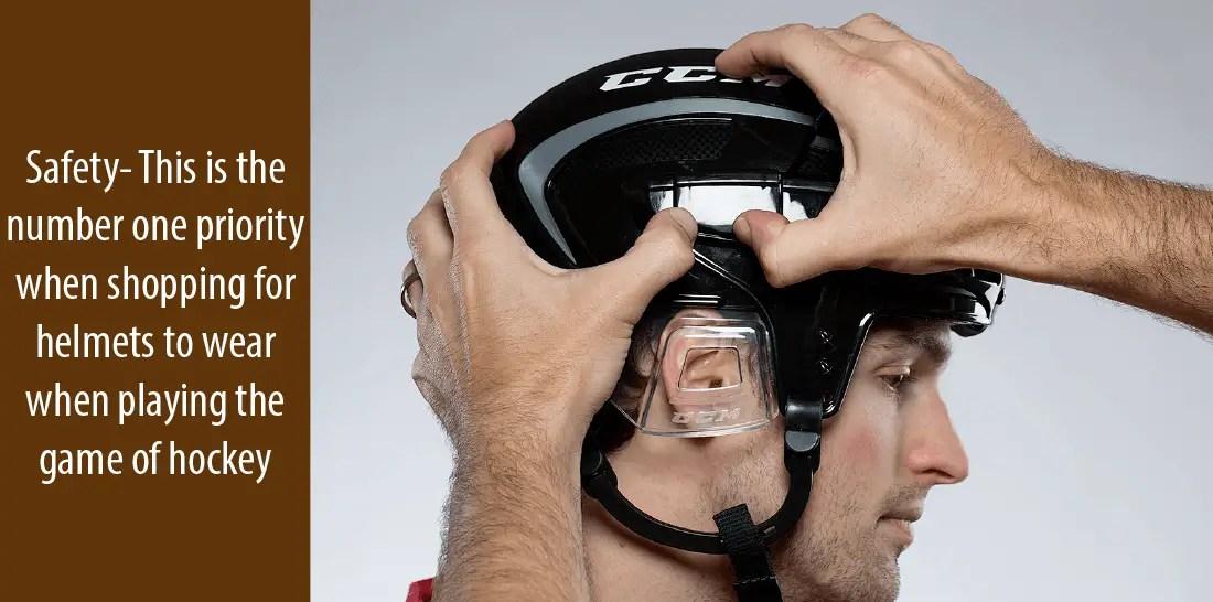 Best Hockey Helmets Safety