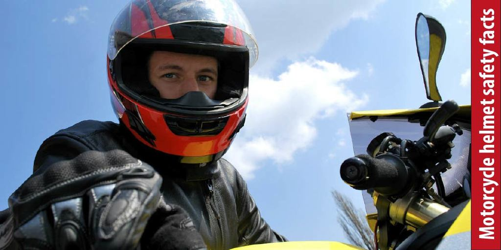 Motorcycle helmet safety facts