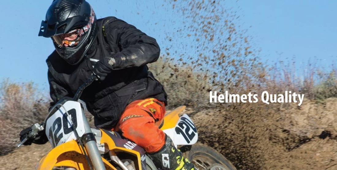 Extreme Motorcycle Helmets Quality of Construction
