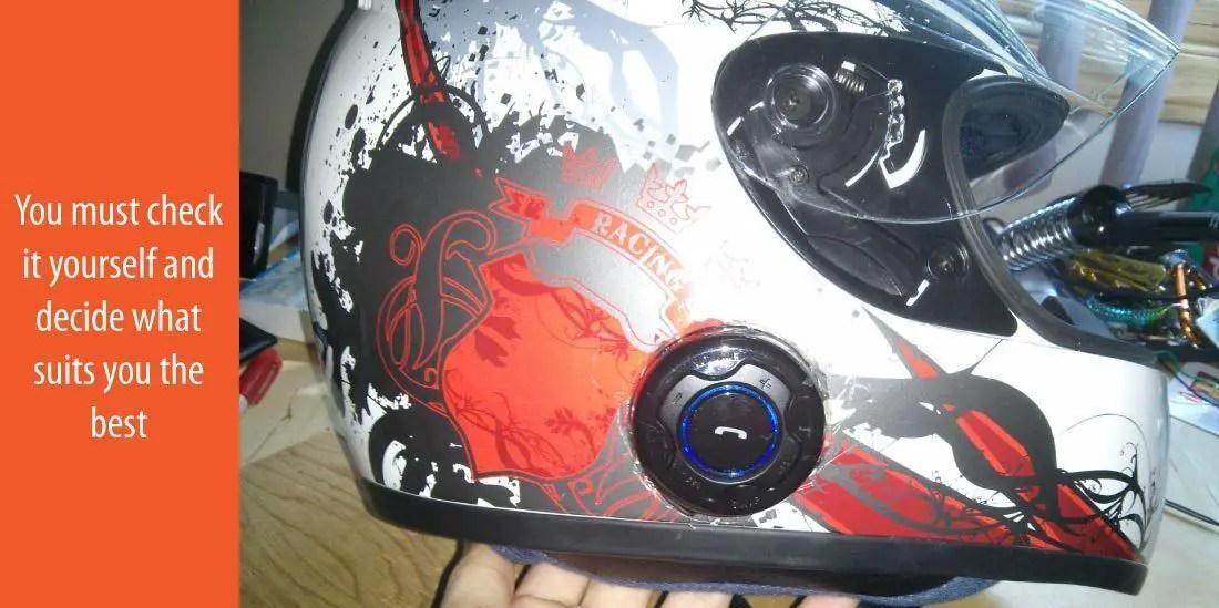 Things to look out for helmet speaker