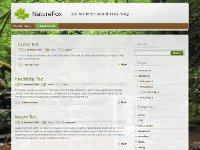NatureFox - WordPress Theme