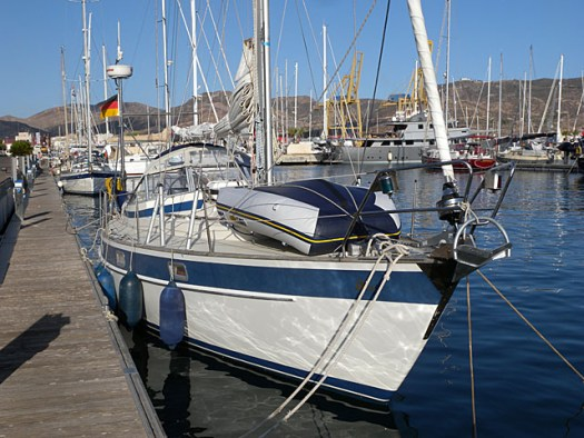 20150615 moored in Cartagena