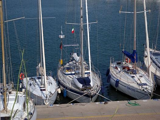201507013 Matilda Moored in Le Castella Calabria