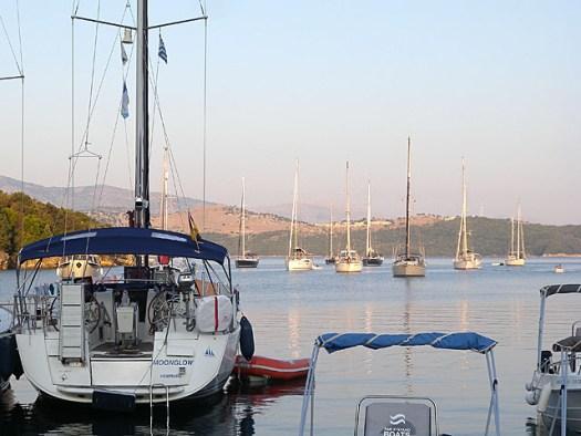 20150717 Corfu Agios Stefanos Taverna view