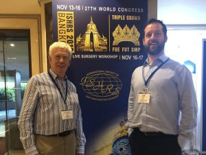 HRBR team at ISHRS conference in Bangkok