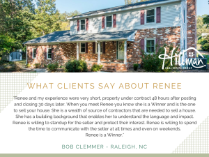 What Clients Say About Renee: Bob Clemmer