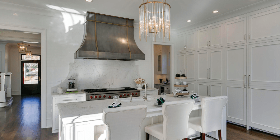 A Look Inside DJF Builders' Latest Luxury Kitchen