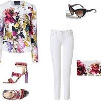 Готин outfit с дрехи и аксесоари Roberto Cavalli