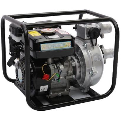 Бензинова високонапорна водна помпа 2″ PETROV