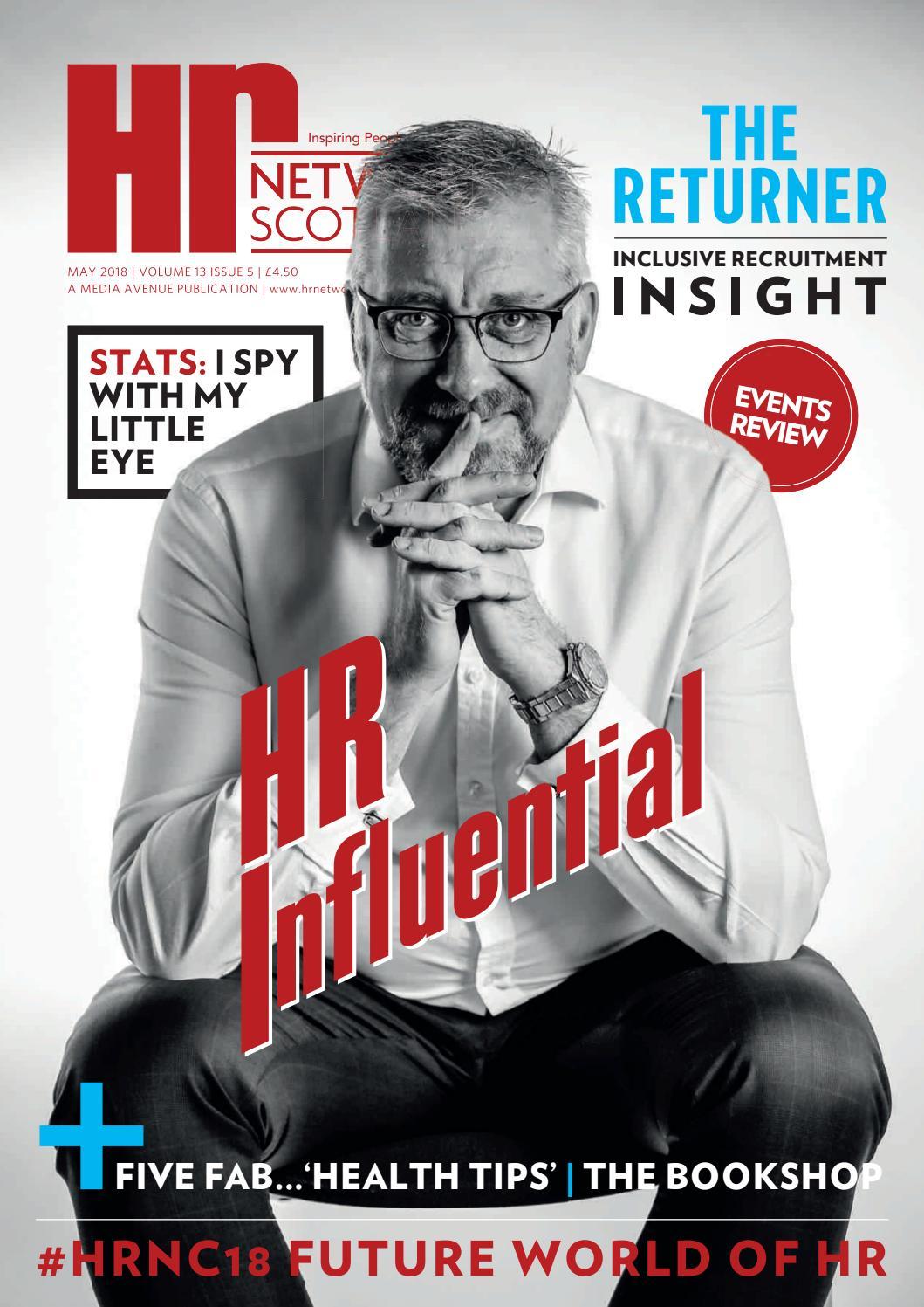 Hr NETWORK Magazine MAY 2018