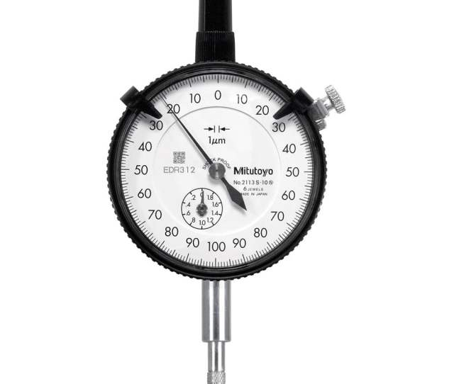 2113s 10 High Resolution Dial Indicator 2mm 0 2mm