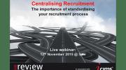 Centralising Recruitment