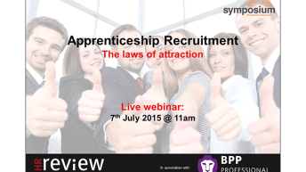 Apprenticeship Recruitment – The laws of attraction