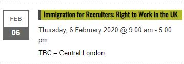 Immigration for Recruiters