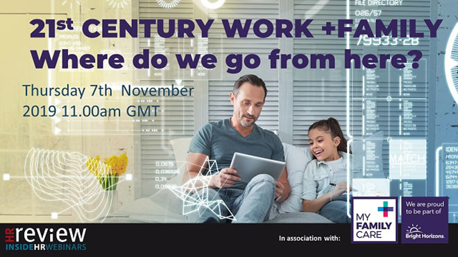 21st Century working: Work + Family – where do we go from here? 07/11/2019