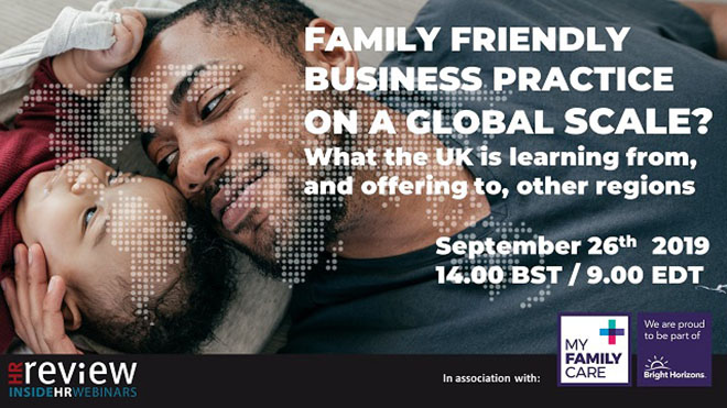 Family-Friendly Business Practice on a Global Scale – 26/09/2019