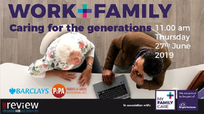 WORK+FAMILY: Caring for the Generations – 27/06/2019