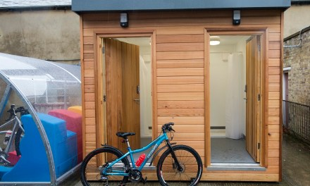 £30,000 Shower Hub giveaway aims to get more people cycling to work