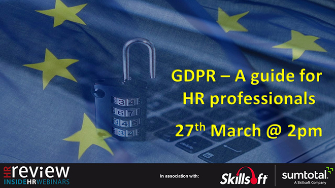 GDPR – A guide for HR professionals – 27-03-2018