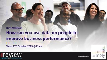 How can you use data on people to improve business performance? – 17/10/2019
