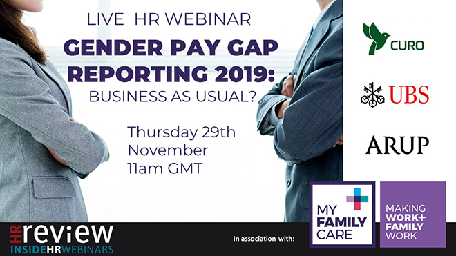 Gender Pay Gap Reporting 2019: Business as usual? 29/11/18