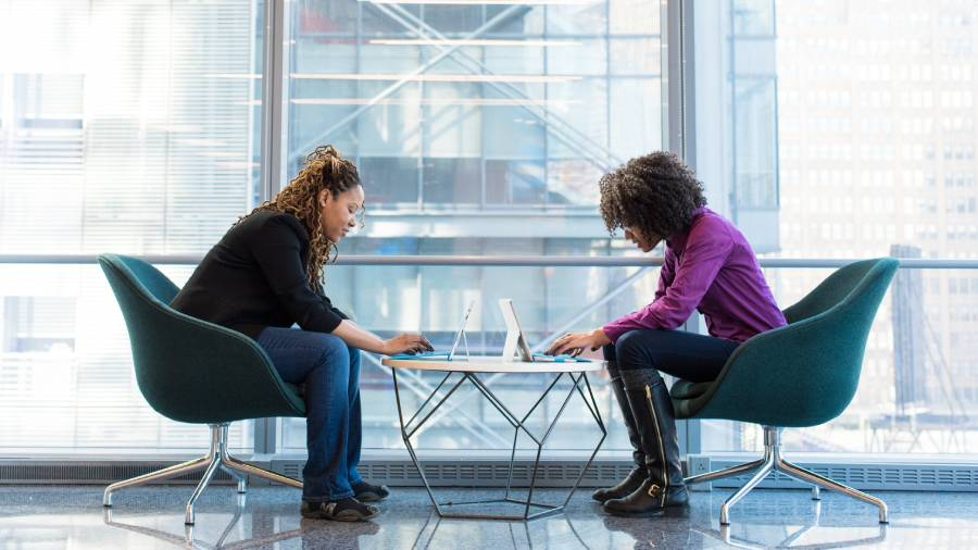 Homeworking thought to help women's career progression, survey shows