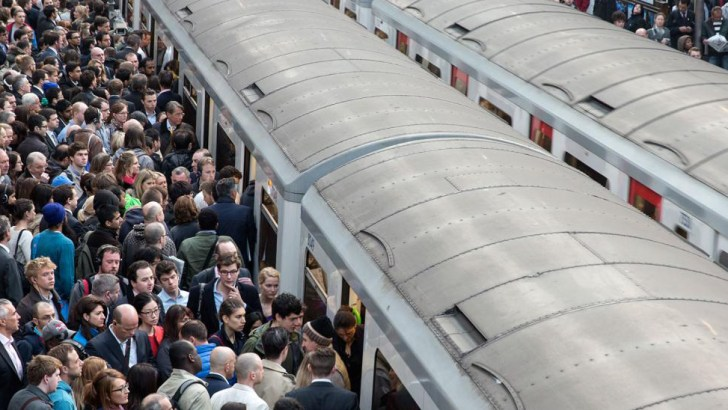 UK workers will spend over a year of their lives commuting