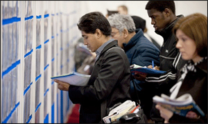 Job-seekers' confidence increases