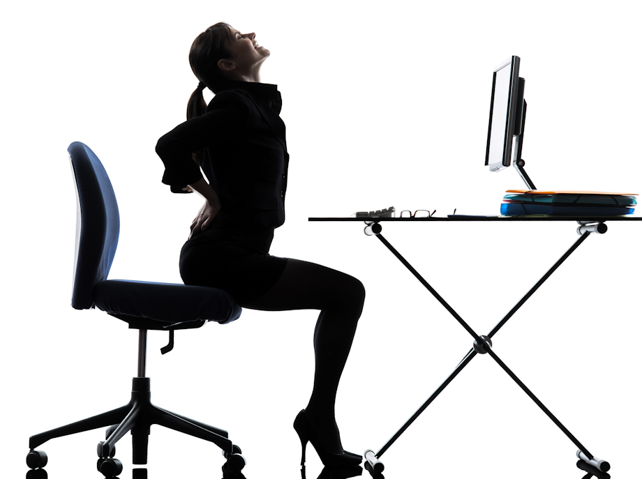 An uncomfortable office chair can lead to mental health ...