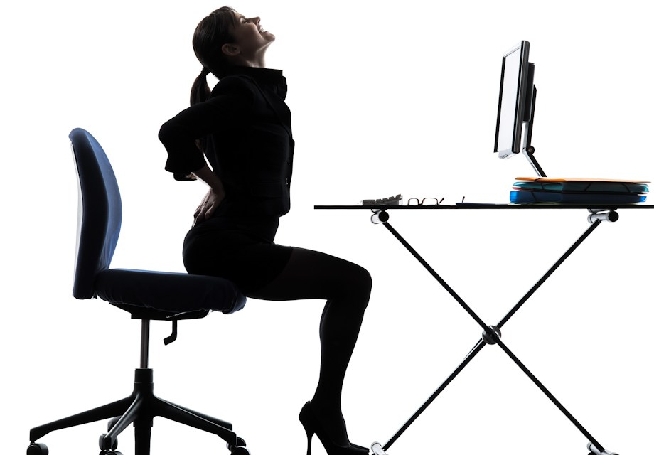 An uncomfortable office chair can lead to mental health problems, claims new report