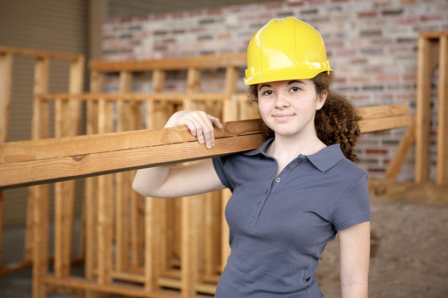 Just 1 in a 100 young women have skilled jobs