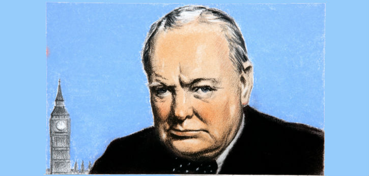 Winston Churchill: A textbook leader?
