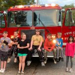 Cub Scout, Pack 72 from Camden TN visits Hollow Rock Fire Department