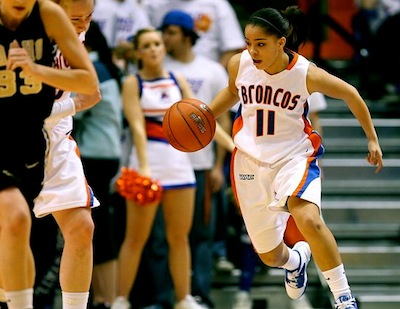 Boise State Sophomore Guard Cinnamon Lister On Training At HSB Academy