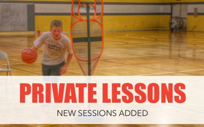 New Private Session Slots Added To Academy Schedule!