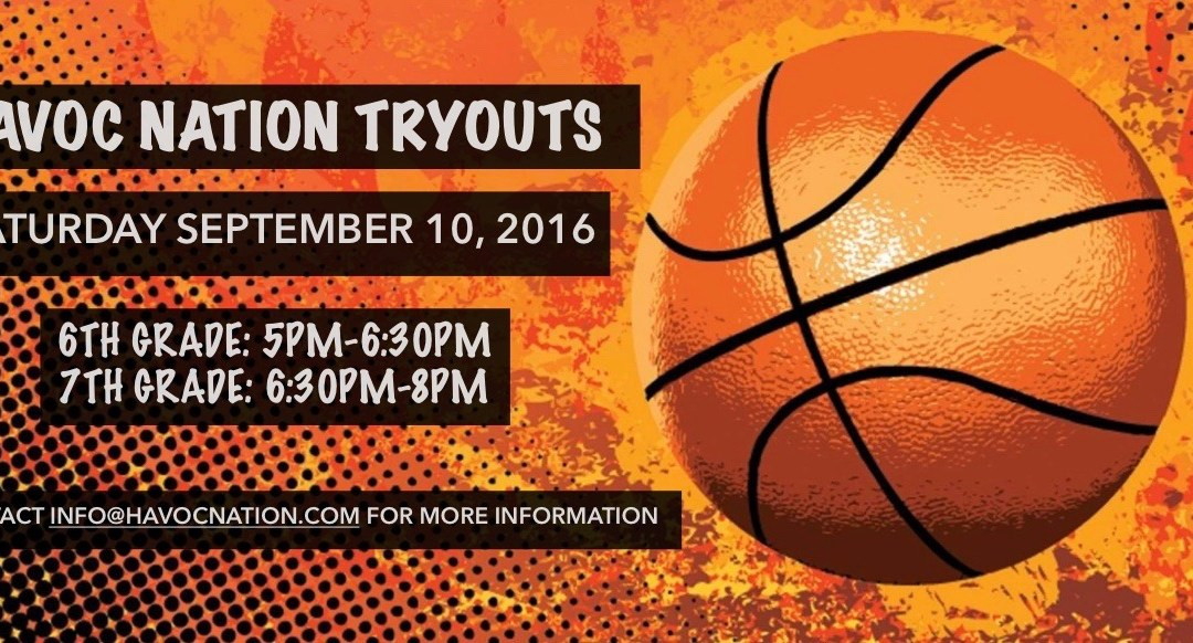 Reminder – Havoc Nation Tryouts Next Week!