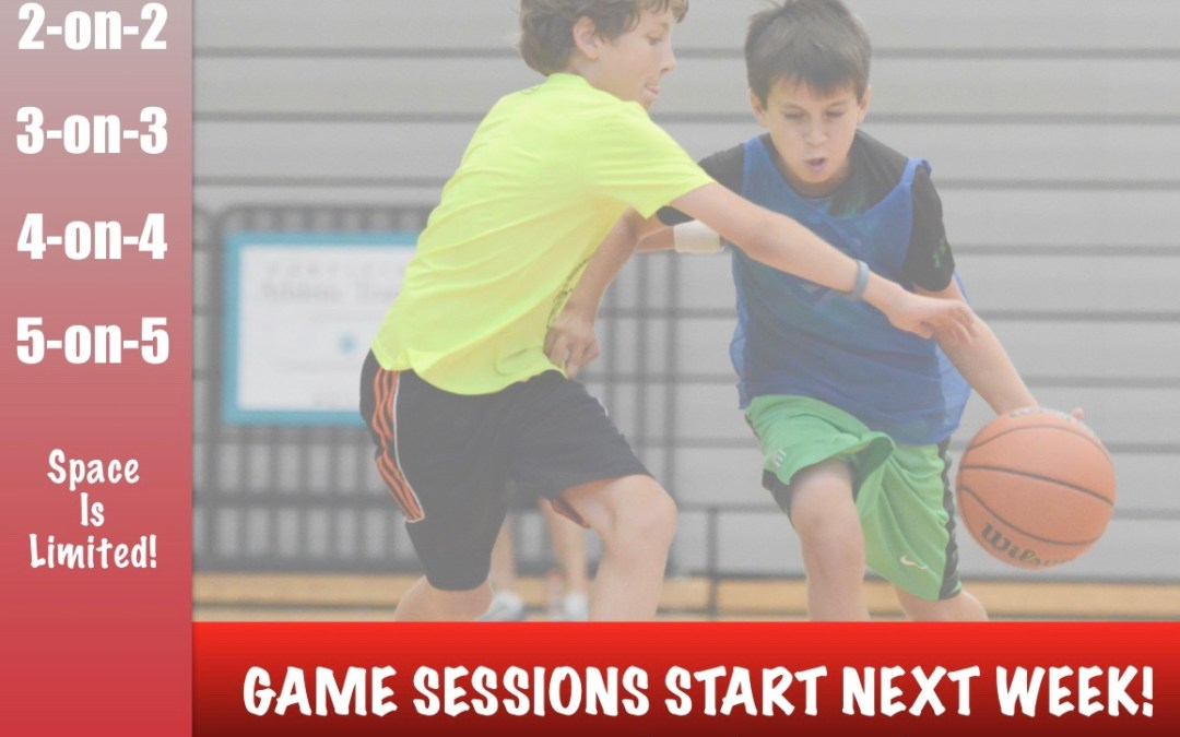 HSB Academy Game Sessions Start Next Week!
