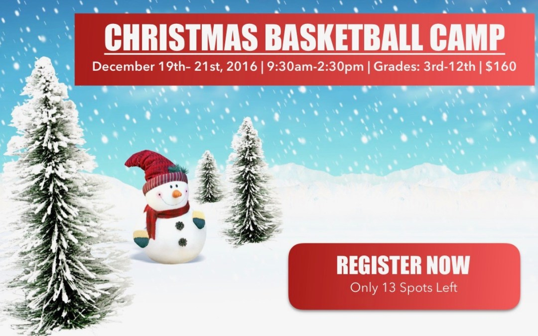 Christmas Camp – Are You Registered?