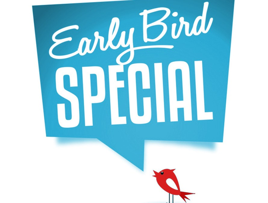 Special Offer– Sign Up Early And Save Big!