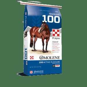 Purina Omolene 100 Active Pleasure Horse Feed