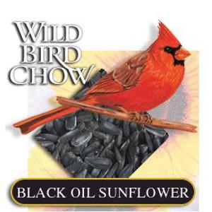 Black Oil Sunflowerand Grey Striped Sunflower