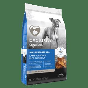 Exclusive Lamb Brown Rice Dry Dog Food