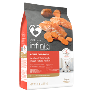 Infinia ZenFood Salmon & Sweet Potato Recipe