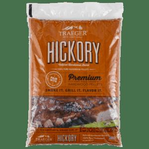 traeger premium hickory hardwood pellets