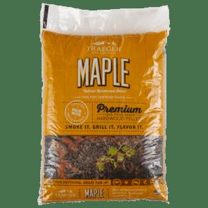 traeger premium maple hardwood pellets