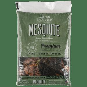 traeger premium mesquite hardwood pellets
