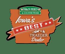 H&S Feed Iowa's Best Traeger Dealer Logo