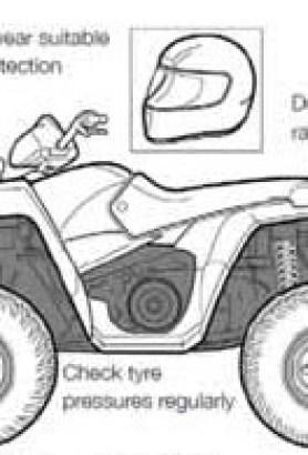 Sit-astride ATVs