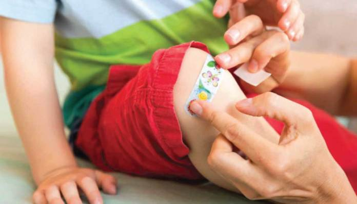 First Aid for Common Childhood Injuries
